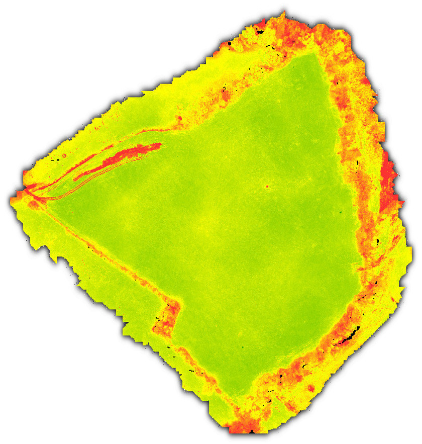 drone photography ndvi agriculture