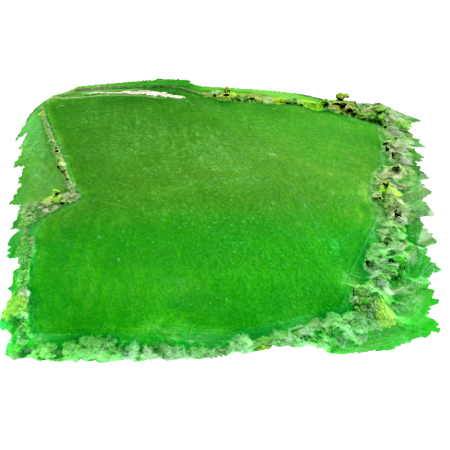 3d Model of a field from drone photography