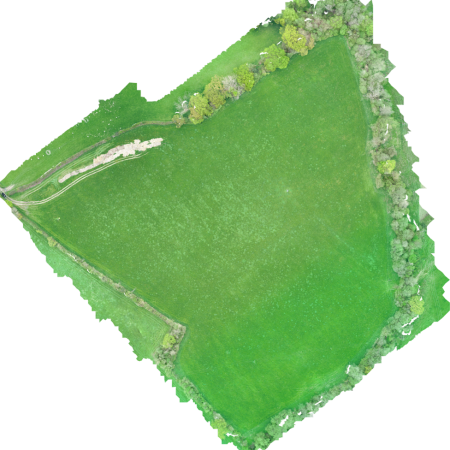 agriculture field from drones